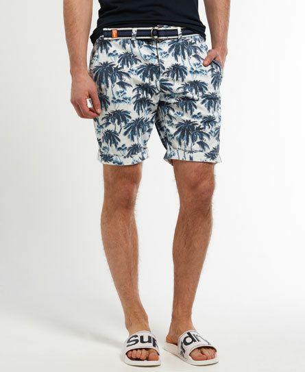 Herren Superdry International Shorts Blue Palm Print 16,95€ statt 69,95€ [@Superdryebaystore]