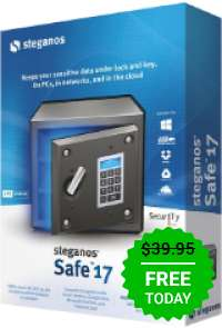 Giveaway of the day — Steganos Safe 17