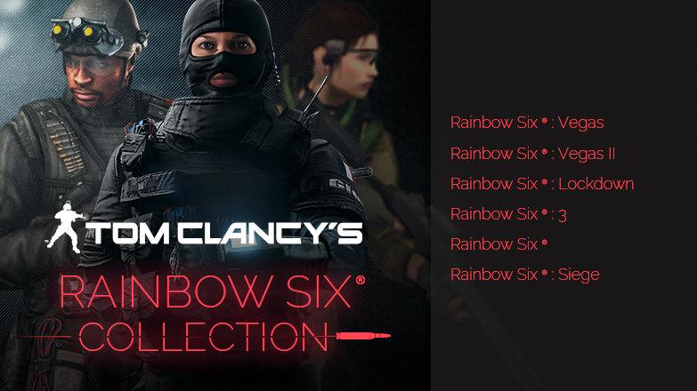 Tom Clancy's Rainbow Six Collection (inkl. Rainbow Six: Siege) für 21,82€ [Ubisoft]