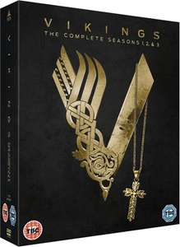 Vikings - Staffel 1-3 Boxset auf DVD mit englischer Tonspur[Zavvi]