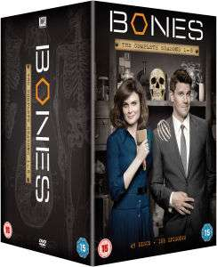 Bones Staffel 1-8 Boxset auf DVD mit englischer Tonspur [Zavvi]