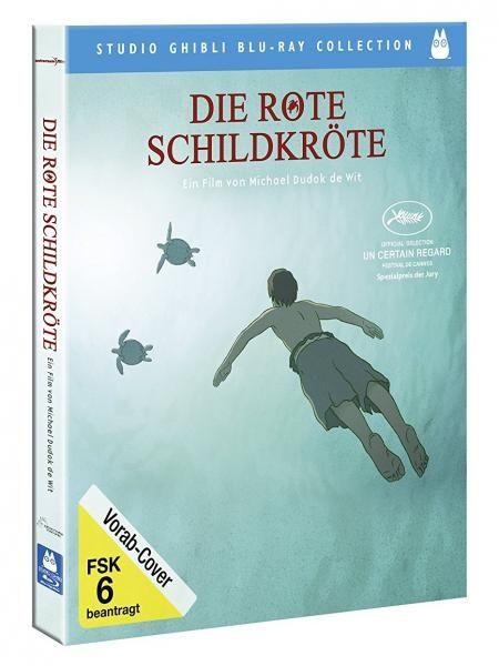 """Das neue Ghibli-Meisterwerk: """"Die rote Schildkröte"""" (Blu-ray) [JPC Vorbestellung]"""