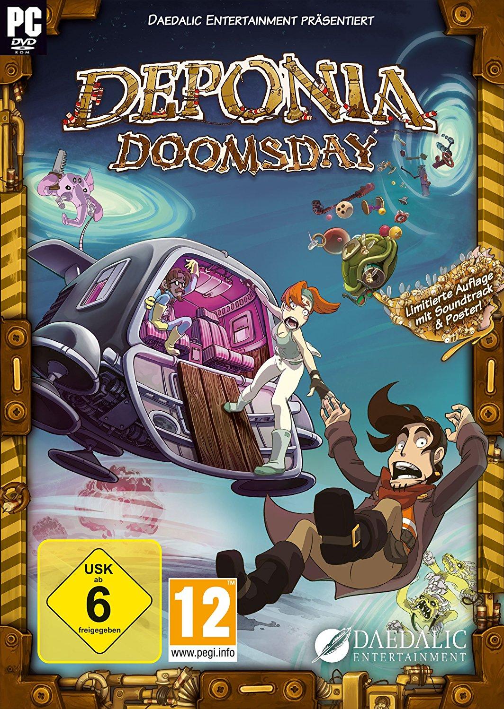 Deponia 4: Doomsday (Steam) über CB für 4,70€