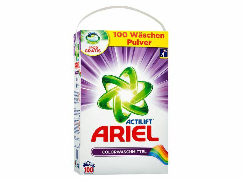 Ariel 100 Wäschen, versch.Sorten - Lidl