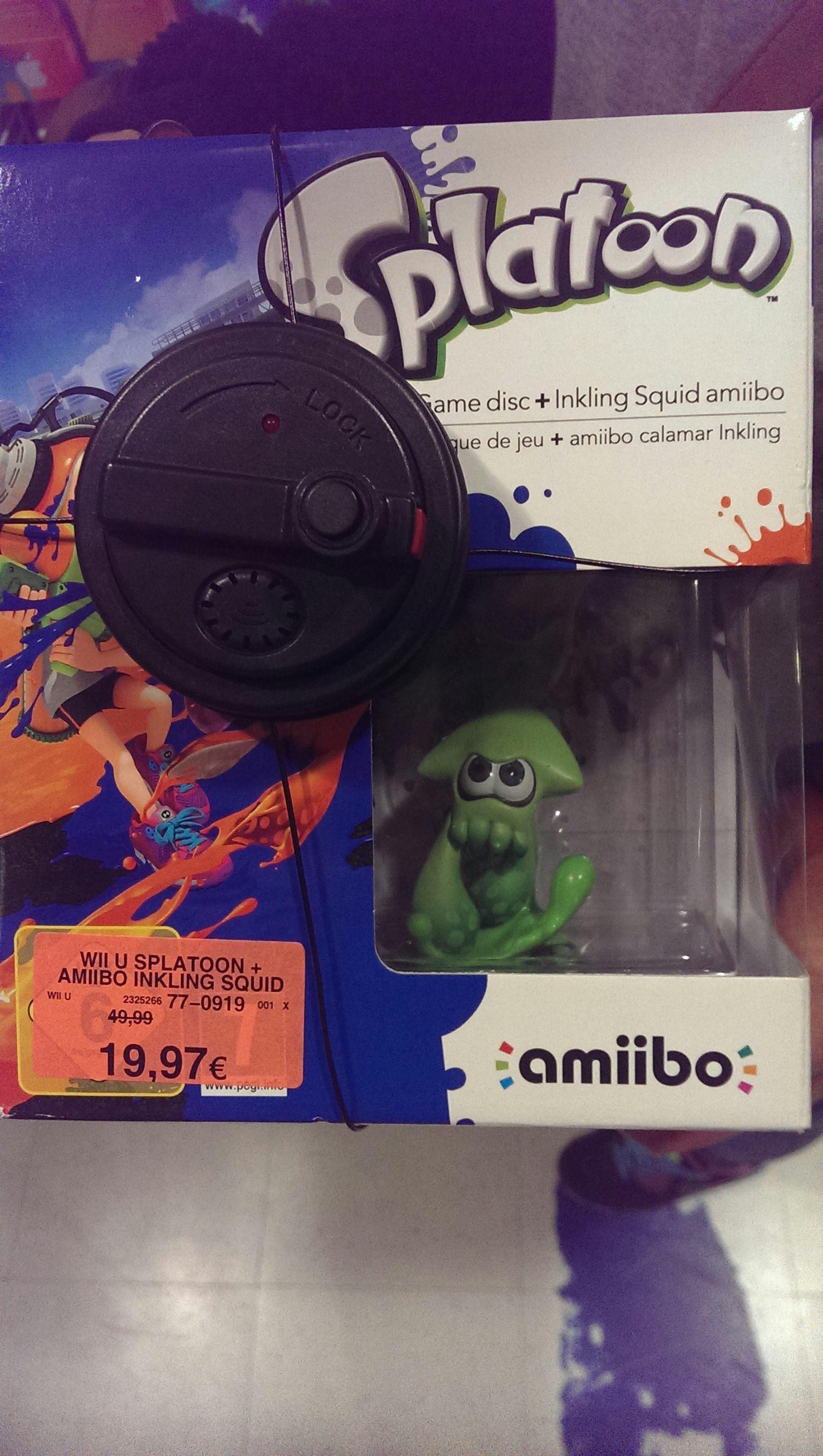 Splatoon für WiiU inklusiv Inkling Amiibo bei Toys'R'Us Heilbronn