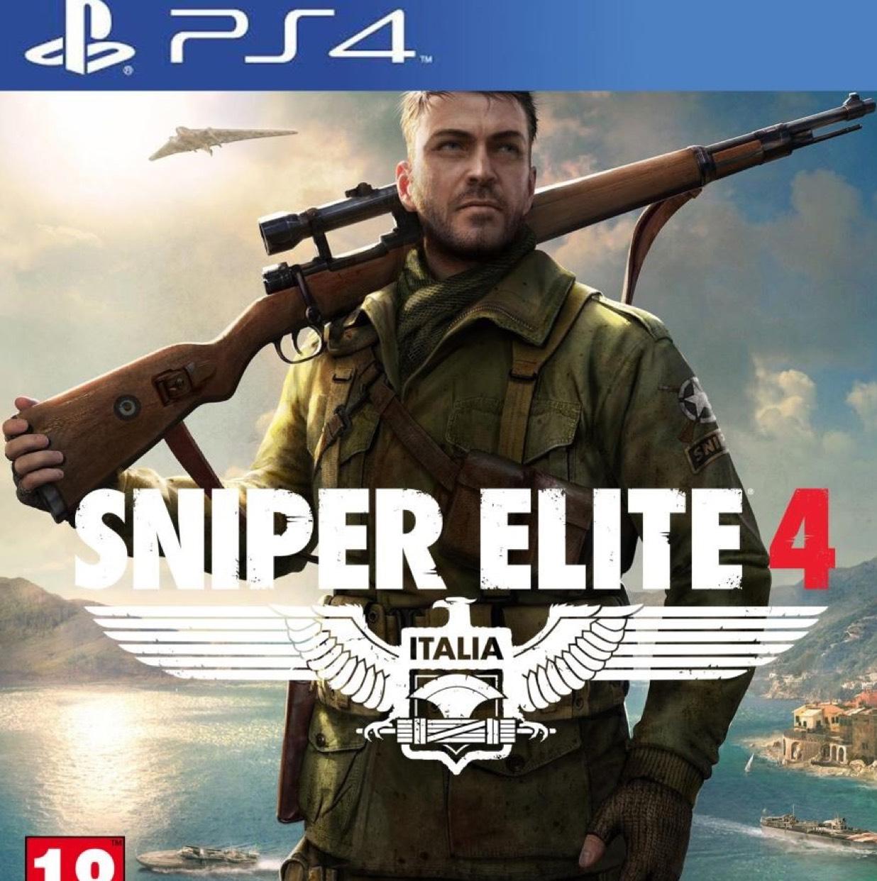 Sniper Elite 4 (US PSN - PS4) für 36,34€