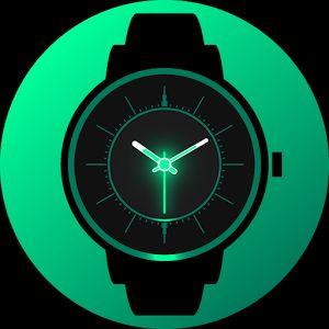 [Android] Analog Glow Watch Face *Skins, für 0€ statt 3,19€