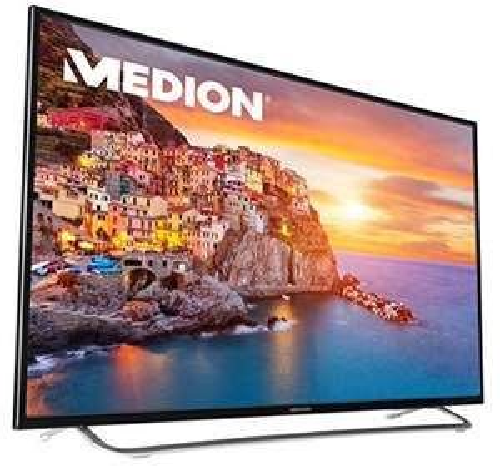 MEDION LIFE P17118 108cm (43 Zoll) Fernseher (LCD-TV mit LED-Backlight, Full HD,Triple Tuner, DVB-T2), schwarz [Energieklasse A]