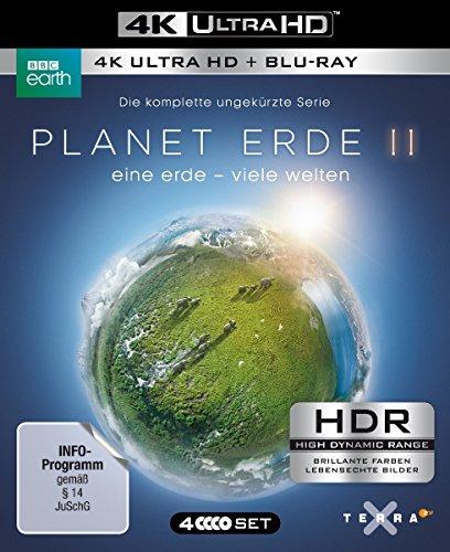 [Amazon] Planet Erde II: Eine Erde - viele Welten (4K Ultra HD) (2 BR4K) (+2 BRs)