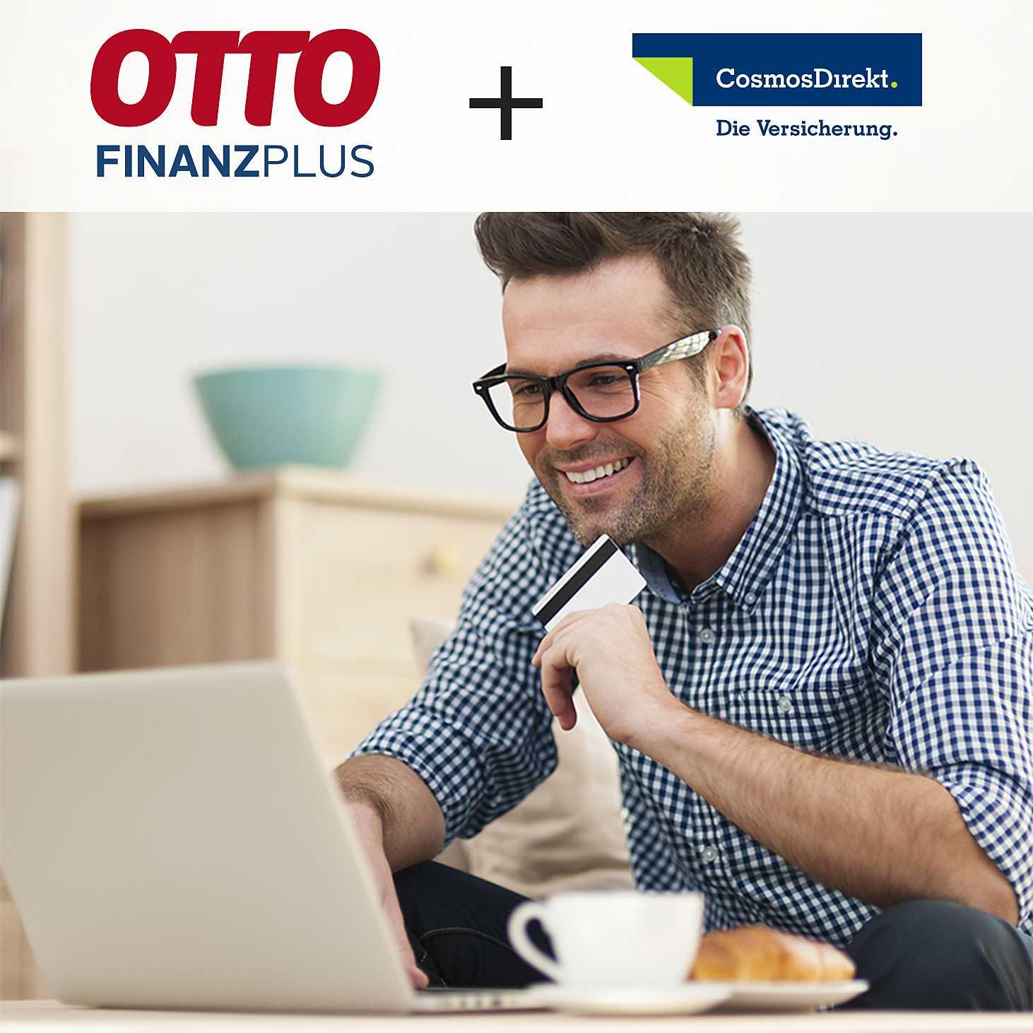 GRATIS 1 Jahr Versicherung CosmosDirekt bzw. OTTO FinanzSchutz statt €7,90