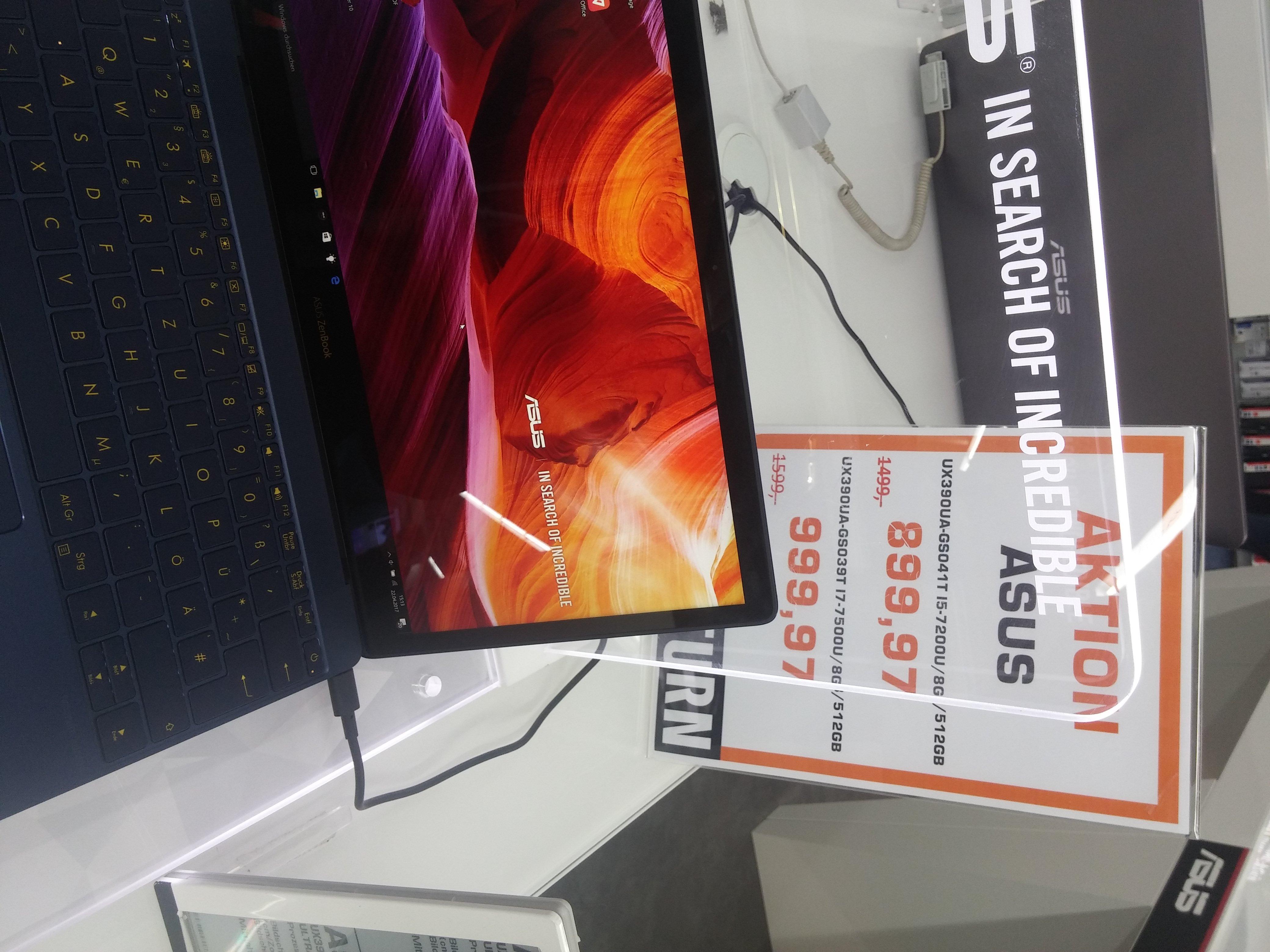 [LOKAL Saturn Stuttgart] ASUS ZenBook 3 UX390UA