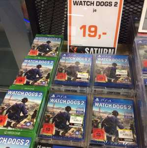 Lokal Berlin Saturn Ku'damm: WatchDogs2 Xbox und PS4