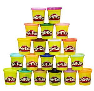 Hasbro Play-Doh Super Farbenset, 20-er Pack Knete