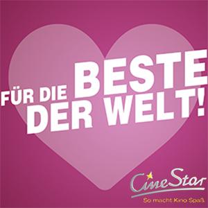 Cinestar 2 × 2D Tickets + 2 × Getränke + 5€ Gutschein für 19,98€ offline, 24,98€ online