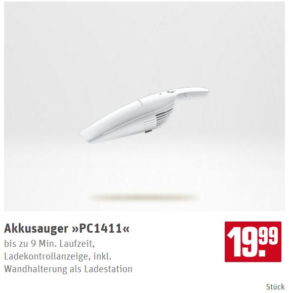 [Rewe Center Offline] AEG Progress PC 1411 Akku-Handstaubsauger