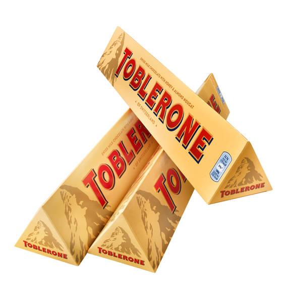 7,56 kg Toblerone Schokolade für 57,93€ entspricht 76 Cent pro 100g [Galeria Kaufhof]