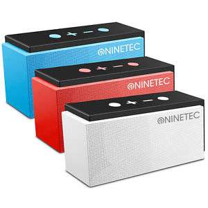 NINETEC SuperSonic 10 Watt Bluetooth 4.0 2in1 Speaker Lautsprecher mit FM-Radio