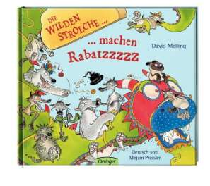 Reduzierte Kinderbücher *Übersicht* + 15% extra Rabatt [Thalia] z.B. Die wilden Strolche machen Rabatz für 4,24€ statt 12,59€