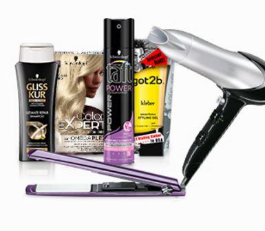Gratis Haartrockner oder Glätteisen beim Kauf von Schwarzkopf Produkten im Wert von 25,00 Euro