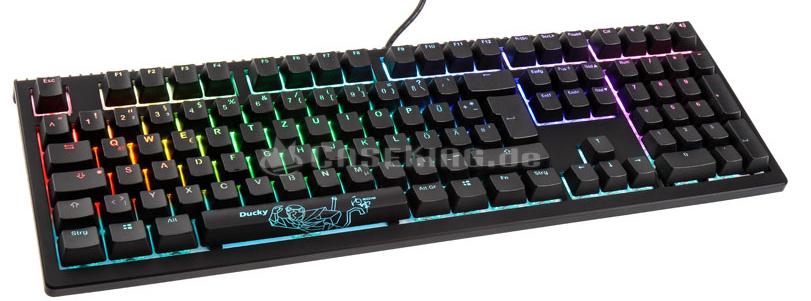 Ducky Shine 6 - mechanische Premium RGB Tastatur - Cherry MX Schalter
