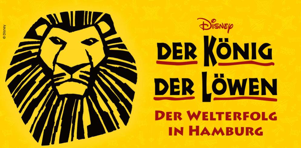 König der Löwen Musical inklusive Hotel und Frühstück im Stage Theater Hamburg ab 119 €  pro Person