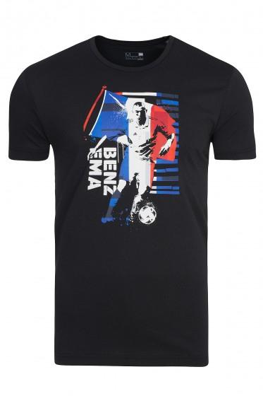 [outlet46] adidas Benzema Herren Fan-Shirt Schwarz inkl. Versandkosten