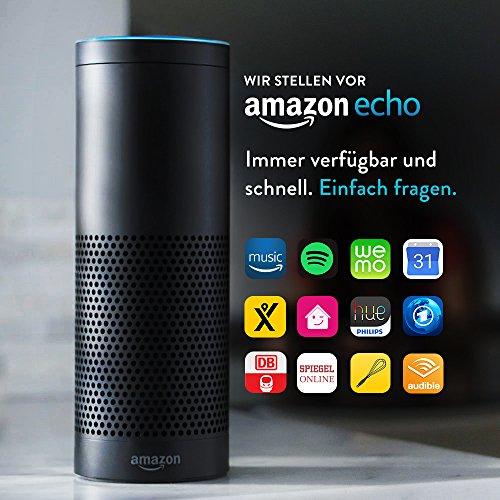 Amazon ECHO (generalüberholt) - schwarz oder weiß - für 149,99 Euro (direkt von Amazon!)