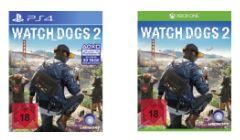 Watch Dogs 2 (Playstation 4 und Xbox One) für je 22,-€ Oder XCOM 2 - (PlayStation 4 und Xbox One) für je 12,99**Preise bei Abholung* [Saturn]
