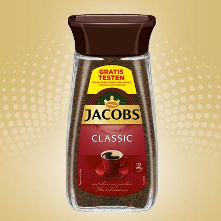 Jacobs Classic 200g GRATIS TESTEN