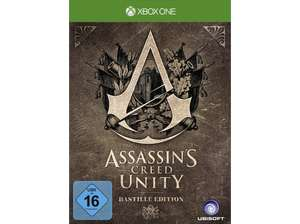 Assassin's Creed Unity (Bastille Edition) (Xbox One) für 14,99€ (Saturn)
