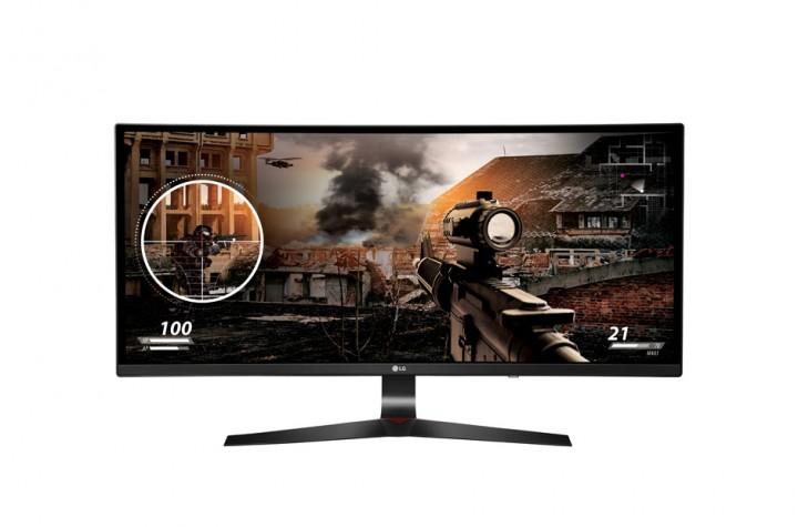 """LG UltraWide 34UC79G-B 87cm (34"""") LED Curved Monitor 499,00 € @comtech"""