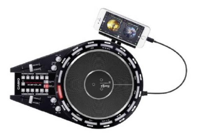 DJ Controller Casio XW-DJ1 @Conrad