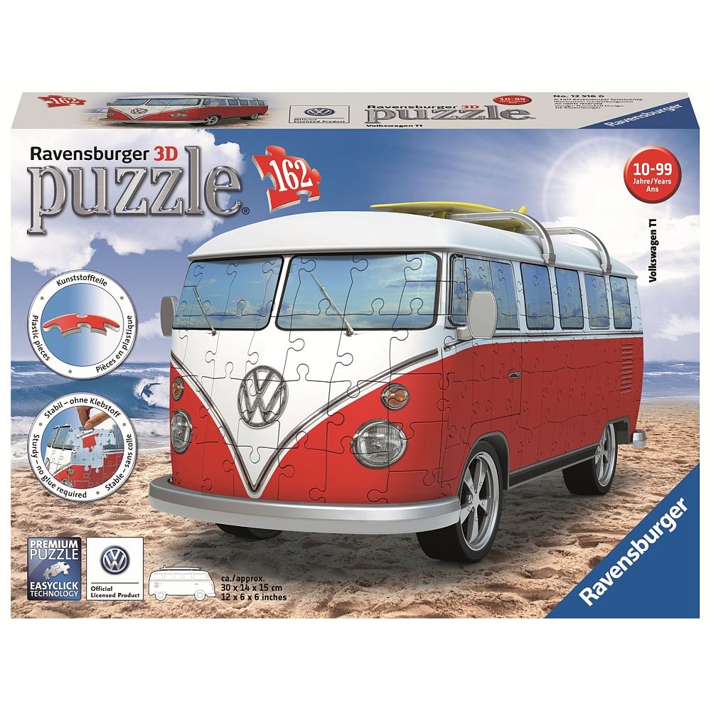 [ToysRUS] 50% auf Ravensburger 3D Puzzle, z.B. VW T1 für 14,98 €