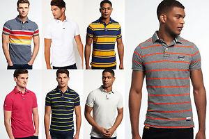 Neues Herren Superdry Polo-Shirts Versch. Modelle und Farben