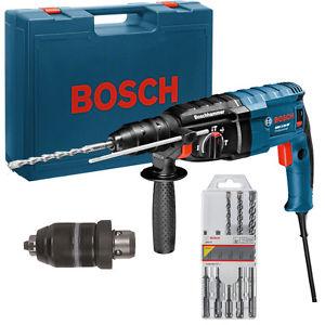 Bosch Bohrhammer GBH 2-24 DF im Koffer inkl. Bohrer-Set