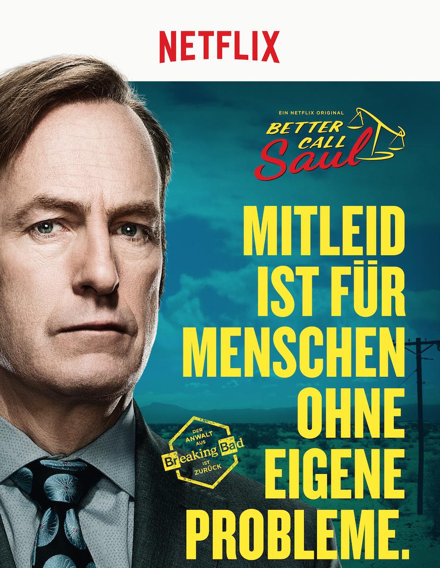 [Serienplakate] Wieder da! Gratis Better Call Saul Staffel 3 Plakat(e) von Netflix