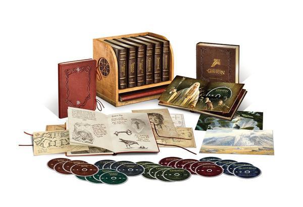 Mittelerde Ultimate Collector's Edition (Hobbit/Herr der Ringe) (30 Blu-rays) für 159,99€ (Thalia)