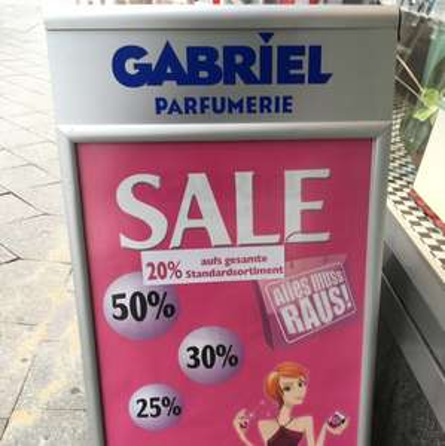 [Lokal Berlin] Parfümerie Gabriel 20% auf alles