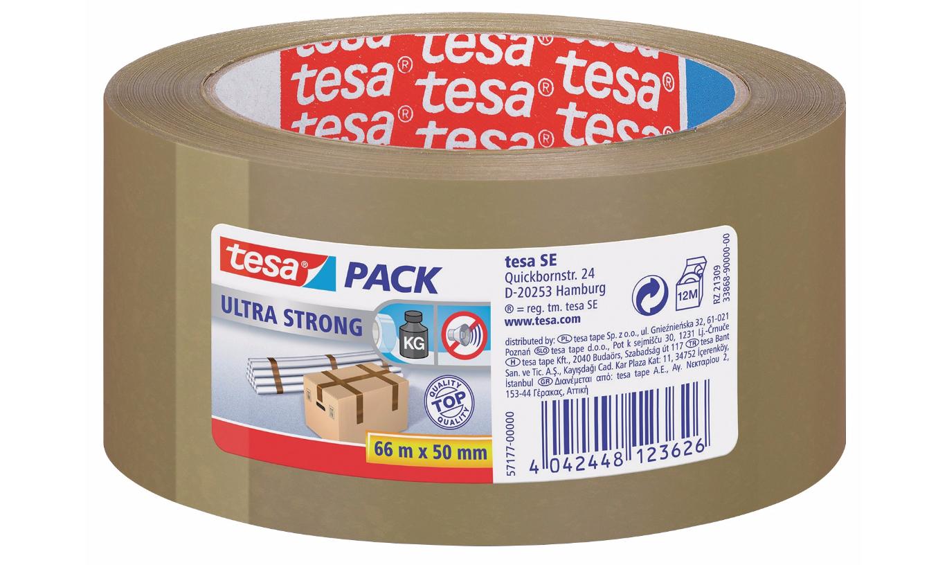 Viking: Preisfehler! tesapack Ultra Strong Verpackungsklebeband Braun, 2 +1 gratis, bei 54 Stück 1,14 die Rolle