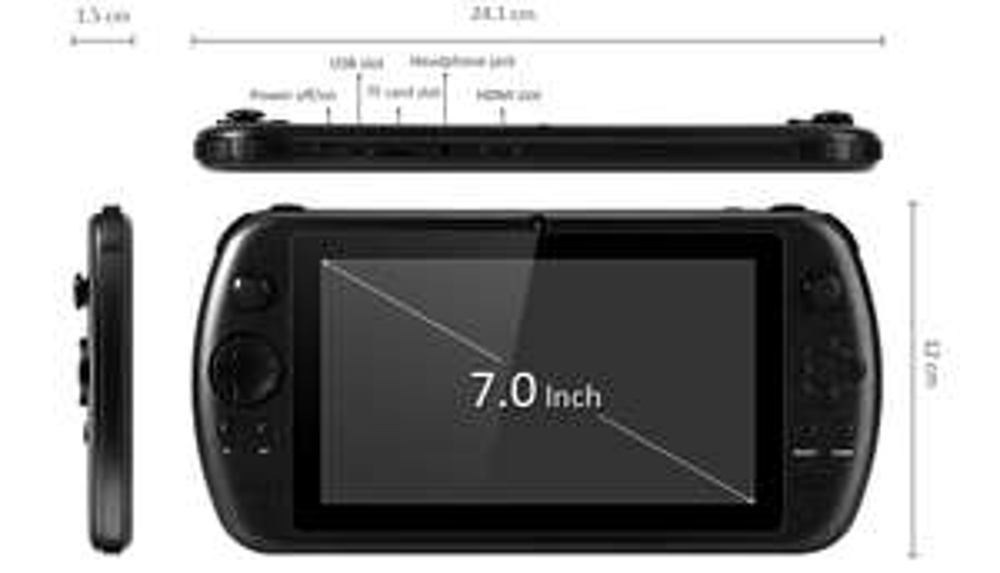 """GPD Q9 PSV 7"""" Android Handheld (zollfrei aus China)"""