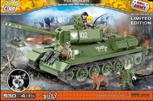 COBI Small Army 2486 Panzer Rudy Limited Edition (kompatibel zu LEGO) für 25,71€ @Moluna.de