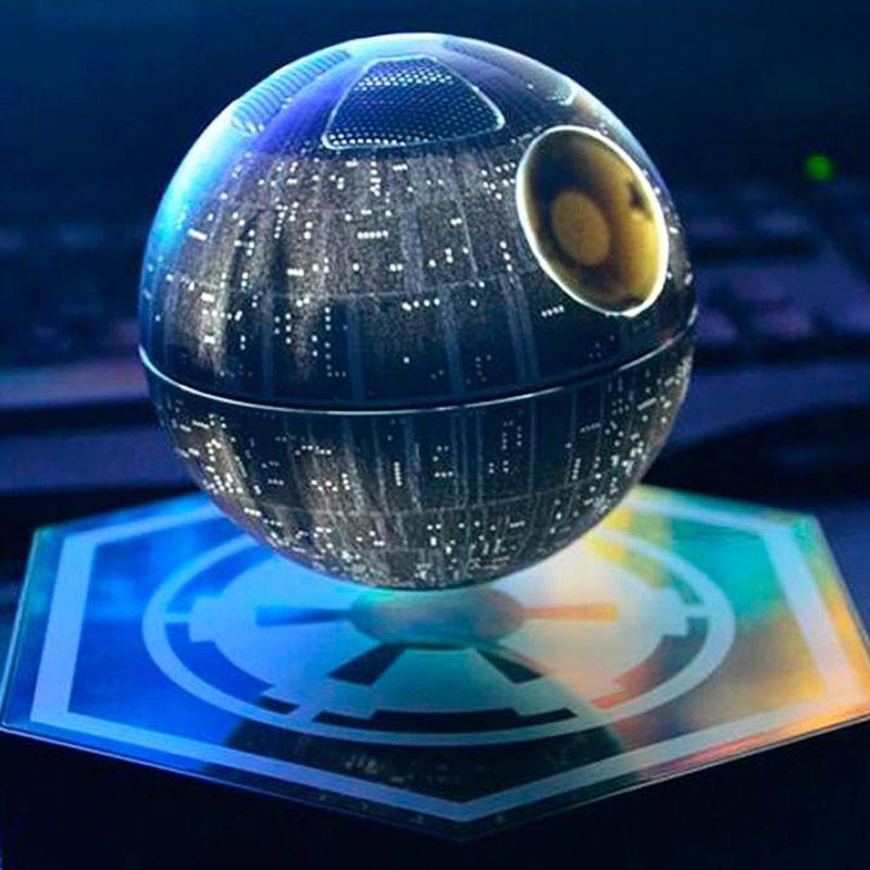 Star Wars Todesstern ~ schwebend und schnurloss ~ Bluetooth Lautsprecher eventl. zzgl. Zoll!