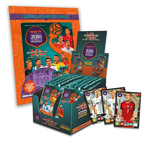 [Paninishop.de]Brandneue Road to WM 2018 Adrnealyn XL Karten günstiger als im Handel+ Exklusive Karten