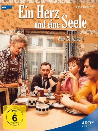 Ein Herz und eine Seele Gesamtbox - Alle 25 Folgen (8 DVDs) für 24,95 Euro / Schimanski Box 19,95 Euro im ARD Shop