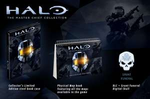 Halo: The Master Chief Collection Limited Edition (Xbox One) für 35,12€ inkl. VSK (Games UK)