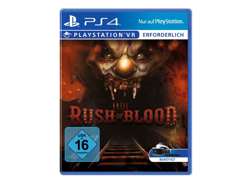 Until Dawn: Rush of Blood (PS4) für 9,99€ oder Starblood Arena (PS4) für 19,99€ (Saturn)