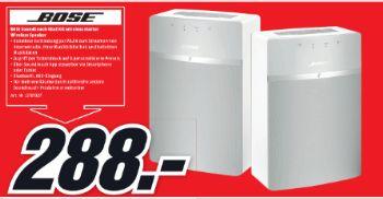 [Lokal Mediamarkt Itzehoe] Doppelpack BOSE SoundTouch 10 Aktiver Multimedia-Lautsprecher weiß für 288,-€