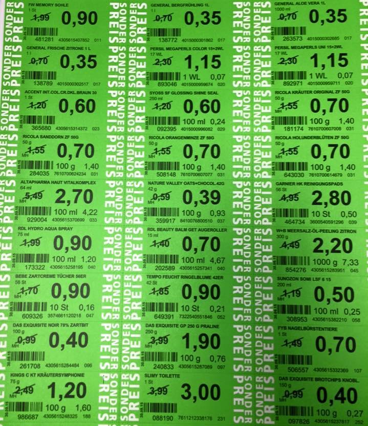Green Label Preise ab 26.4.2017 (ROSSMANN)