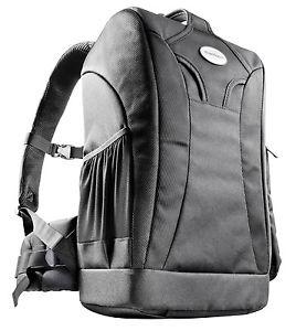 Mantona Trekking Kamerarucksack (mit Diebstahlschutz und Stativhalterung, integrierte Regenschutzhülle, geeignet für DSLR oder Systemkameras) in schwarz [technikdirekt@eBay]