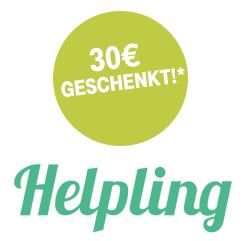[Telekom Mega Deal der Woche] 30€ Rabatt bei Helpling - dem Testsieger der Online-Putzdienste